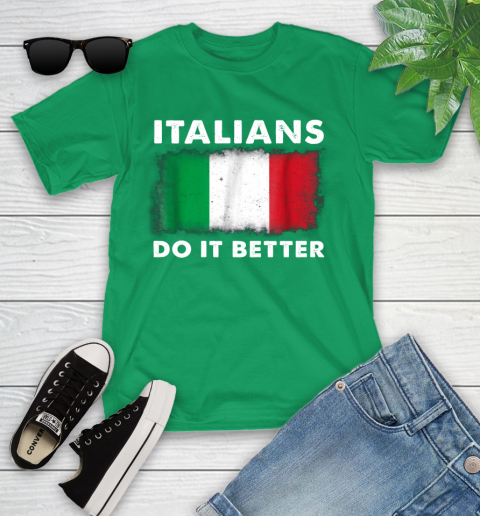Italians Do It Better Youth T-Shirt 8