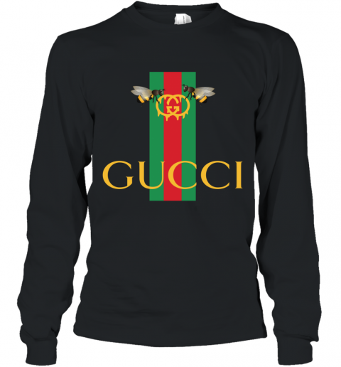 Gucci Bee Shirt Logo 2019 Long Sleeve T-Shirt