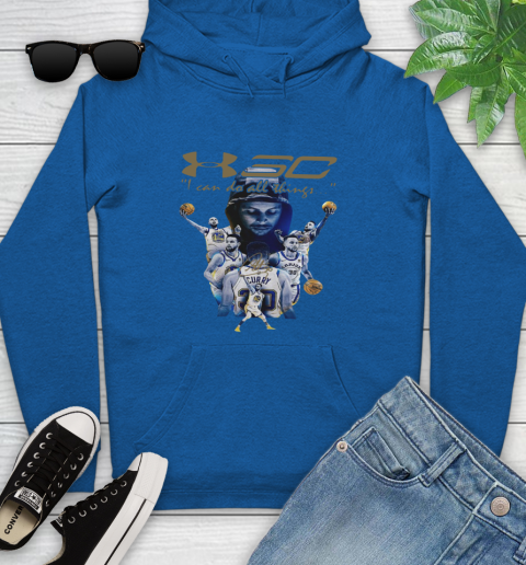 Stephen Curry I Can Do All Things Signature Youth Hoodie 11