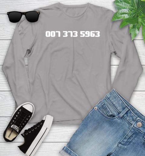 007 373 shirt Youth Long Sleeve 5