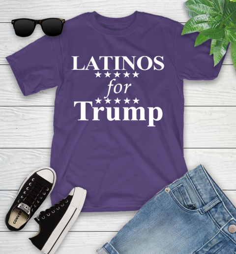 Latinos For Trump Youth T-Shirt 3