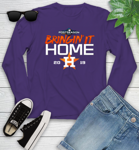 Bringing It Home Astros Youth Long Sleeve 4