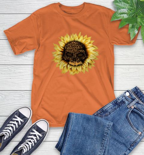 Sunflower Skull Panther T-Shirt 5