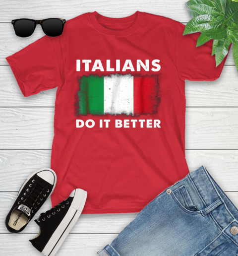 Italians Do It Better Youth T-Shirt 13