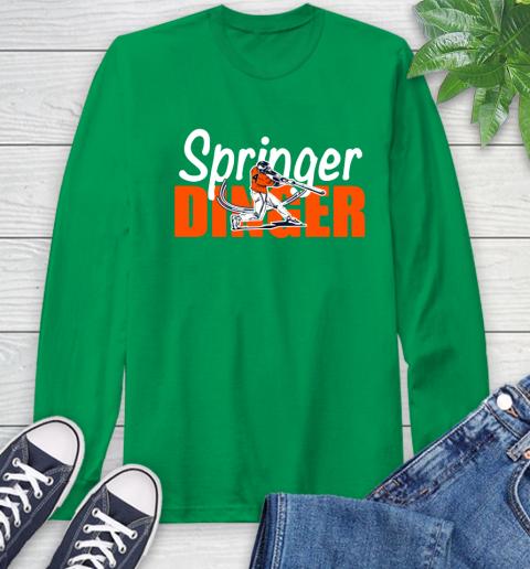 Houston Springer Dinger Fan Shirt Long Sleeve T-Shirt 8