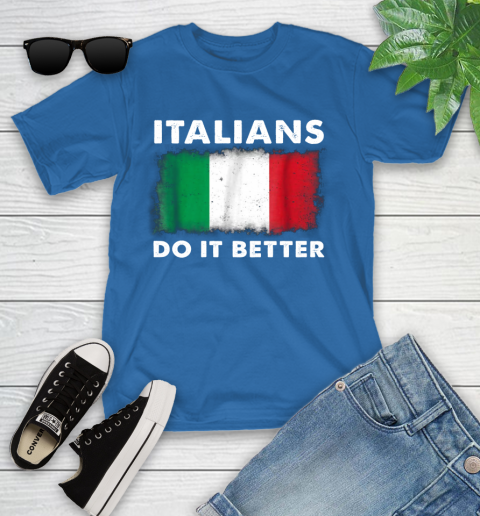 Italians Do It Better Youth T-Shirt 12