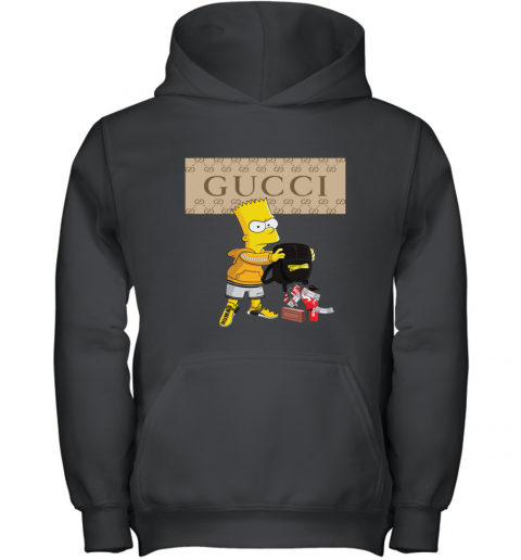 Gucci Bart Simpson Youth Hoodie