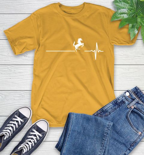 Horse Riding This Is How My Heart Beats T-Shirt 2
