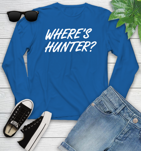 Where Is Hunter Youth Long Sleeve 10