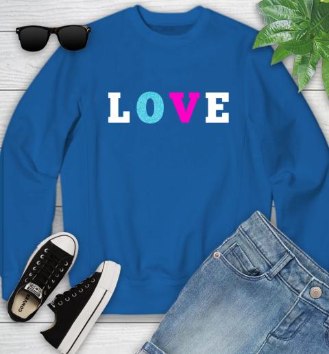 Love Shirt Savannah Guthrie Youth Sweatshirt 7