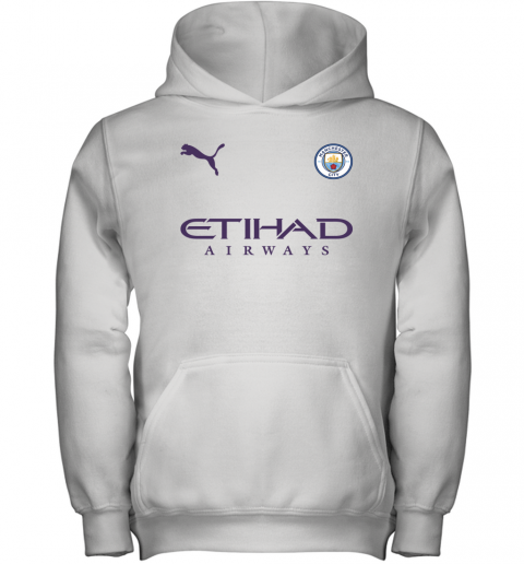Manchester City FC Home Jersey 2019-2020 Youth Hoodie