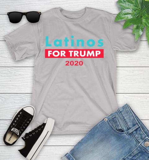 Latinos Trump 2020 Youth T-Shirt 12