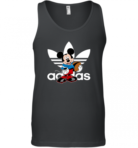 Adidas Logo  Rugby Mickey Mouse Disney Sports Tank Top