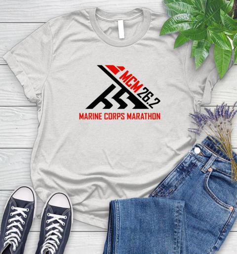 2018 Marine Corps Marathon Women's T-Shirt 1