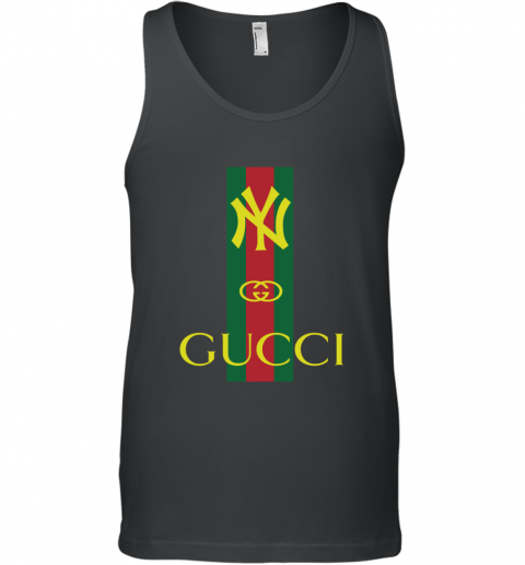Gucci Logo New York Yankees Tank Top