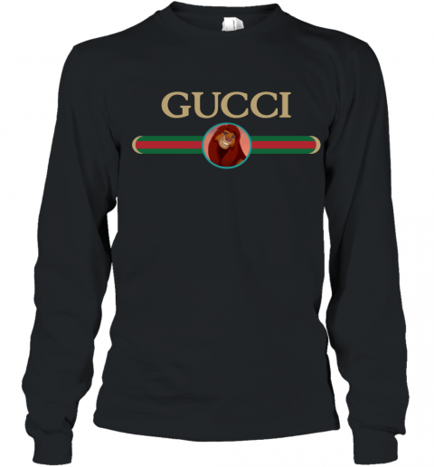 Lion King Simba Gucci Youth Long Sleeve T-Shirt