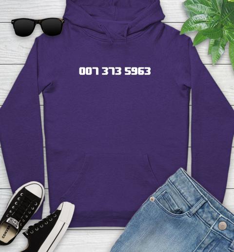 007 373 shirt Youth Hoodie 5