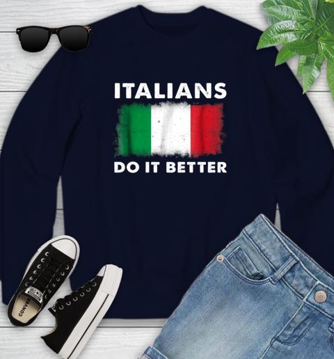Italians Do It Better Youth Sweatshirt 2