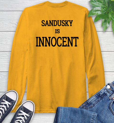 Penn state shirt controversy Long Sleeve T-Shirt 13