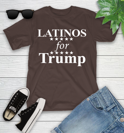 Latinos For Trump Youth T-Shirt 7