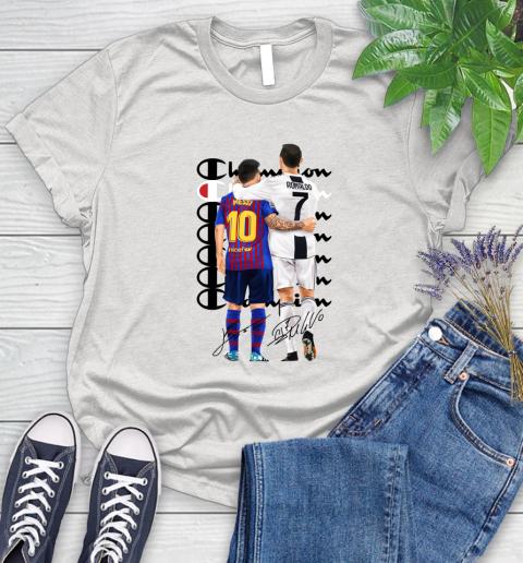 Champion Ronaldo and Messi Signatures Women's T-Shirt