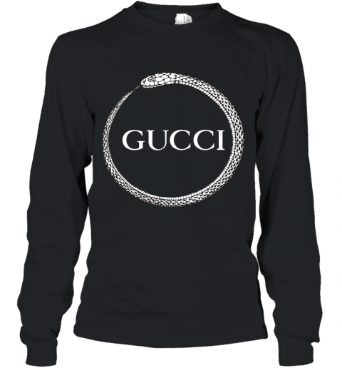Gucci Ouroboros Print Long Sleeve T-Shirt