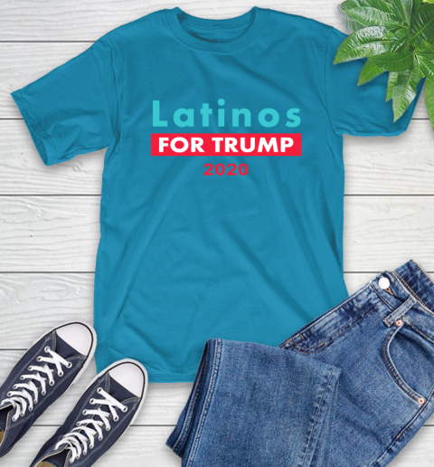 Latinos Trump 2020 T-Shirt 8