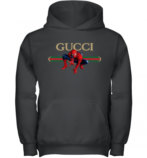 Gucci Logo Spiderman Youth Hoodie