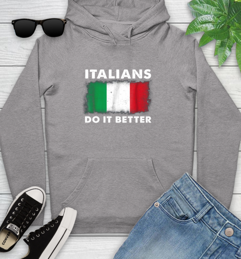 Italians Do It Better Youth Hoodie 6