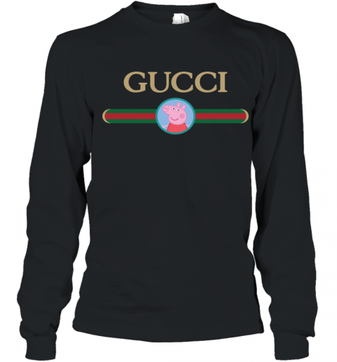 Peppa Pig Gucci Youth Long Sleeve T-Shirt