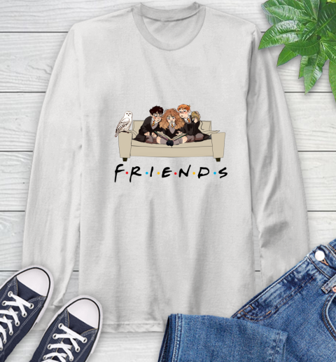 Harry Potter Ron And Hermione Friends Shirt Long Sleeve T-Shirt 1