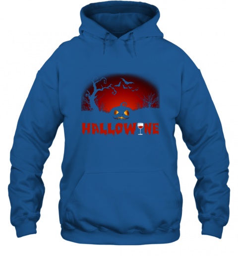 Hallowine T shirt Funny Scary Cool Halloween Costume Hoodie