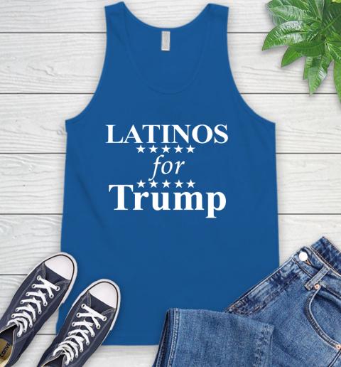 Latinos For Trump Tank Top 4