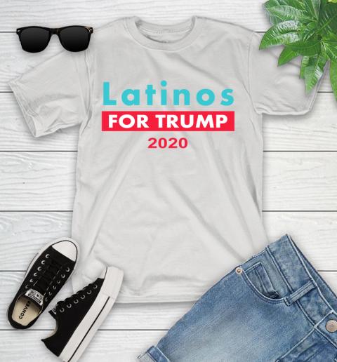 Latinos Trump 2020 Youth T-Shirt 1