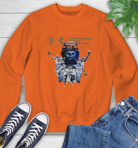 Stephen Curry I Can Do All Things Signature Sweatshirt 3