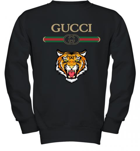 Gucci Logo With Tiger Youth Sweatshirt
