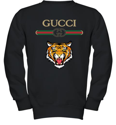 Gucci Logo With Tiger Youth Sweatshirt