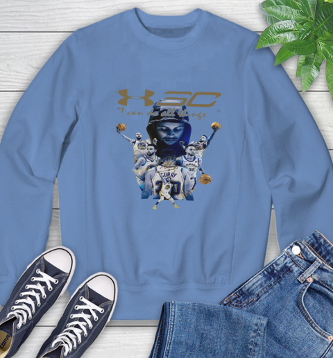 Stephen Curry I Can Do All Things Signature Sweatshirt 11