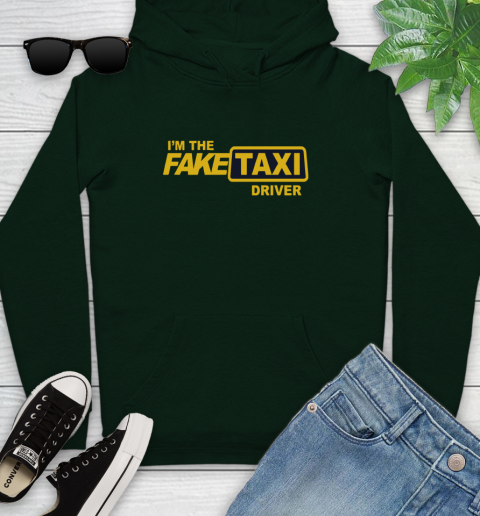 I am the Fake taxi driver Youth Hoodie 13