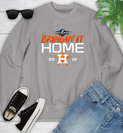 Bringing It Home Astros Youth Sweatshirt 3