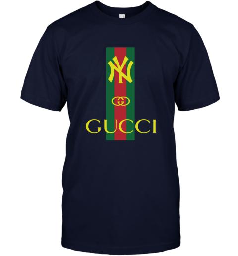 Gucci Logo New York Yankees T-Shirt