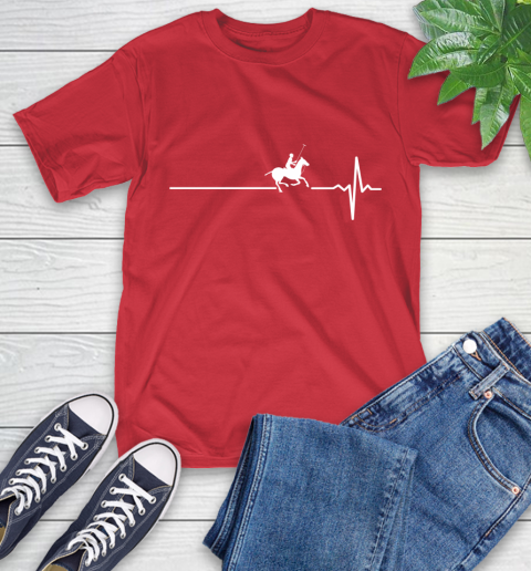 Polo Horse This Is How My Heart Beats T-Shirt 11