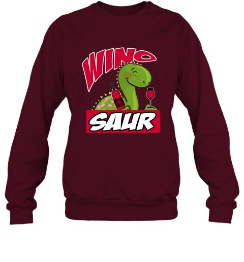 Wino Saur Dinosaur Shirt Funny Birthday Gift Sweatshirt