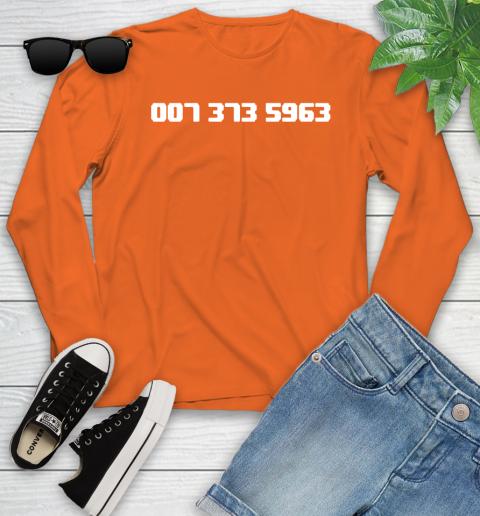 007 373 shirt Youth Long Sleeve 3