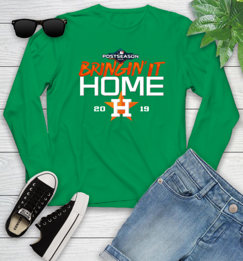 Bringing It Home Astros Youth Long Sleeve 7