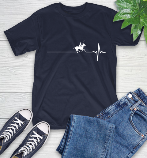 Polo Horse This Is How My Heart Beats T-Shirt 3