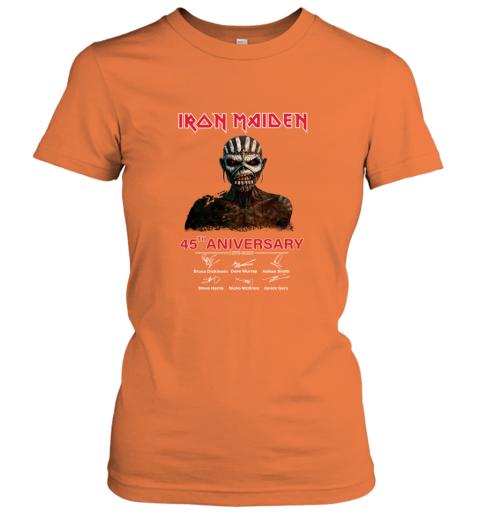 1975 2020 Iron Maiden 45th Anniversary Women's T-Shirt