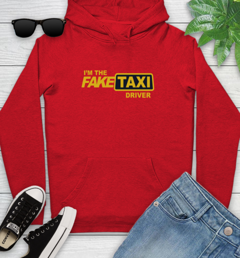 I am the Fake taxi driver Youth Hoodie 11