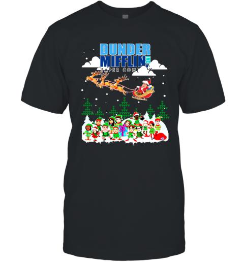 Dunder Mifflin Paper Company Ugly Christmas T-Shirt