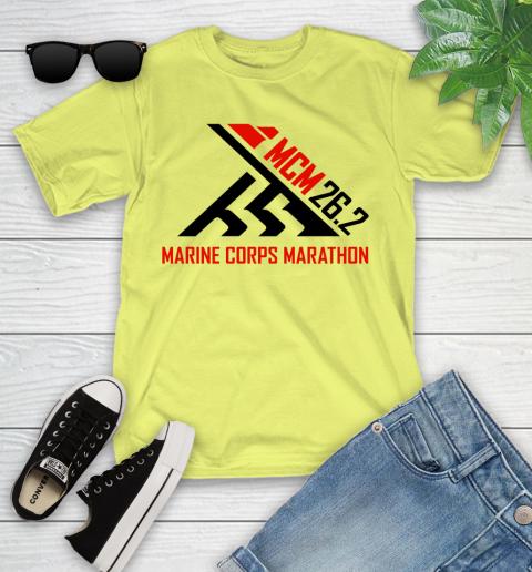 2018 Marine Corps Marathon Youth T-Shirt 5